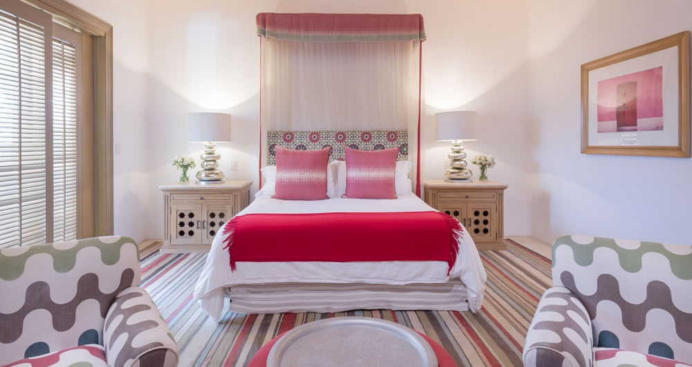 The Red Room at Casa Aramara Punta de Mita