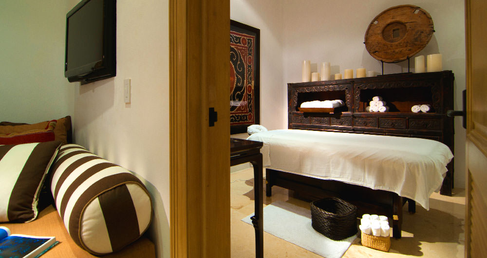 Casa Aramara massage spa room